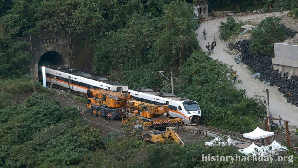 อัยการไต้หวันขอจับกุม เหตุรถไฟชนคนเสียชีวิต อัยการในไต้หวันขอหมายจับเจ้าของรถบรรทุกไร้คนขับที่กลิ้งไปบนรางรถไฟและก่อให้เกิดภัยพิบัติทางราง