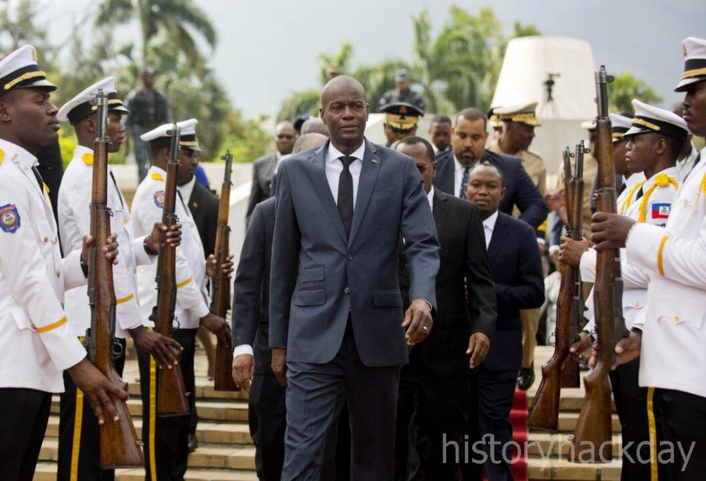 ผู้นำเฮติถูกสังหาร