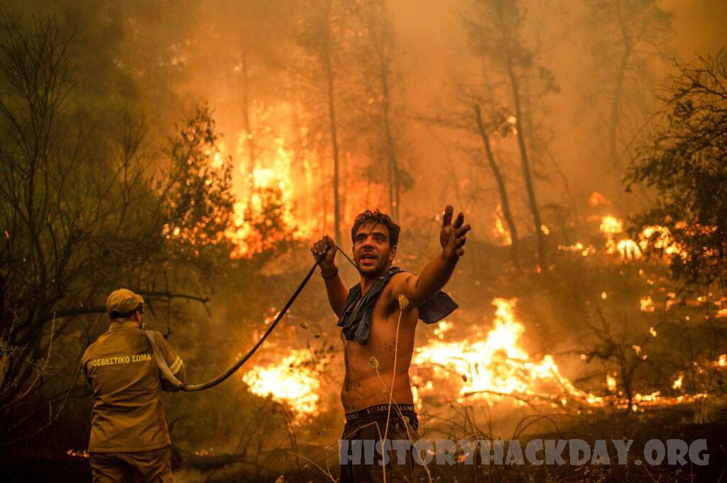 ไฟป่าเฟรนช์ริเวียร่าไม่ลามแต่ยังไม่สามารถควบคุมไม่ได้ กผจญเพลิงได้ควบคุมไฟป่าขนาดใหญ่ที่ลุกโชนไปทั่วพื้นที่ทุรกันดารของ French Riviera